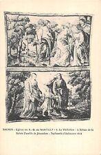 BF10069 eglise de N D de nantilly la vi saumur painting france      1 2