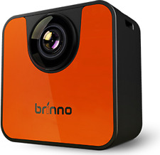 Brinno TLC120 Time-Lapse Wi-Fi Video Camera Bundle w/Accessories- Orange