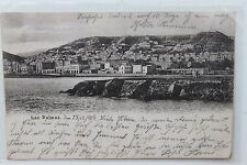 27374 AK Las Palmas Stempel Deutsche Seepost Hamburg Westafrika 1914 PC