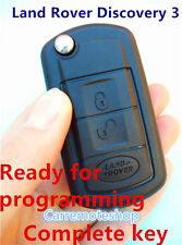Land Rover Range Rover Discovery  3  Sport complete flip remote key 433mhz