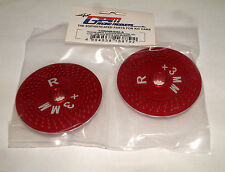 TRAXXAS X-MAXX 7076 GPM RED ALUMINUM REAR WHEEL HEX WITH BRAKE DISK TMX006R