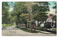 New Canaan Connecticut North Main Street posted 1908