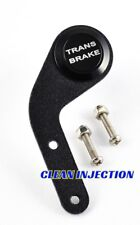 Black 19MM Trans Brake  Steering wheel Launch Momentary activation Push Button