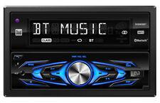 Dual DXRM58BT Double-DIN In-Dash Mechless AM/FM Receiver w/ Bluetooth