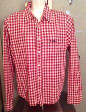 MEN'S XL Jack & Jones Red Plaid shirt