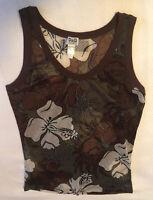 DOLCE and GABBANA BEACHWEAR Sleeveless Shirt USA-Large C103 L2112