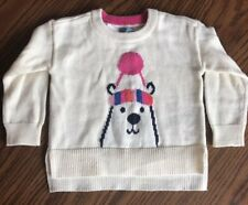 Baby Gap Polar Bear Winter Crew Sweater 12-18 Months