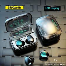 3600mAh Touch Control Bluetooth 5.0 Kopfhörer Headsets mit Ladebox Power Bank