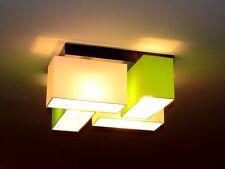 Deckenlampe Deckenleuchte für LEDs geeignet Sakado-KL TOP DESIGN Stoff Gewebe