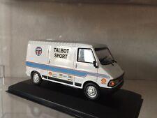 Die Cast 1/43 Peugeot J5 Assistance Rallye Team Talbot Sport Handmade