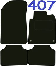Peugeot 407 Tailored Deluxe Quality Car Mats 2003-2012