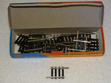 ROCO  ( 4558 ) 24 RAILS DROITS EN MAILLECHORT LONGUEUR 26,5mm EN BOITE HO