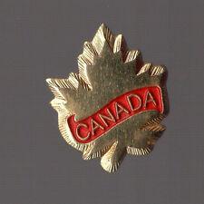 Pin's Canada (feuille d'érable)