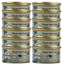 ELEVATE Glacier Bay Wet Cat Food 12 x 3oz Cans, Grain Free / NO preservatives