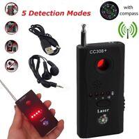 Anti-Spy Wireless Signal Radio Hidden Camera RF Bug GSM Detector Tracer Finder