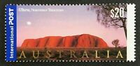 2001 $20 INT Twenty Dollar Stamp 'Panoramas of Australia - Uluru NT' - MNH