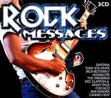 Rock Messages Big 3cd-box Nuevo y Caja Orig. 54 Rock Songs