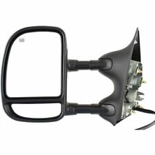 New Left / Driver Side Double Swing Mirror For Ford F-Series Super Duty 99-2007