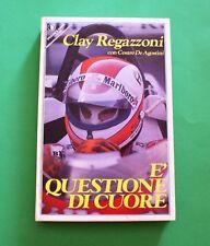 E' questione di cuore - C. Regazzoni - 1^ Ed. Sperling e Kupper 1982 - Autografo