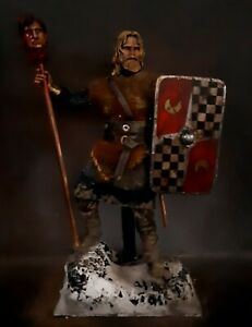 "12"" CUSTOM ANCIENT GERMANIC WARRIOR, BRUTAL TRIBAL CHIEFTAIN  1/6 FIGURE IGNITE"
