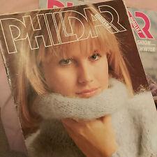 PHILDAR knitting books - Vintage - pattern book 93 & Autumn/Winter collection