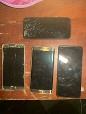 4 Phone Lot 3 Samsung A Galaxy A32?, Note 5, Edge +, And A Cool Pad Broke Screen