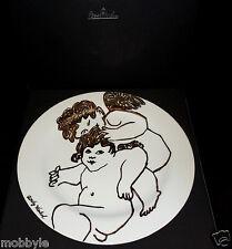 Rosenthal Warhol Weihnachten Golden Angels 2005 Jahresteller 31 cm Neu & Ovp