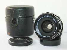 Super Takumar 35mm f3.5 Pentax M42 Mount Wide Angle Manual Prime Lens