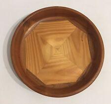 70er Jahre 20cm Teak Schale Holz Wood Bowl 70s Design Danish Modern