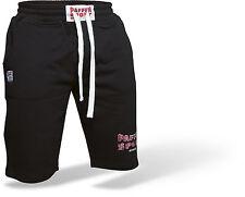 Paffen Sport LOGO Short schwarz und grau. S-XXL. Boxen, Training, Freizeit, MMA