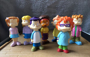 RUGRATS ALL GROWN UP FIGURES TOYS NICKELODEON CHARACTERS BUBBLE BLOWERS