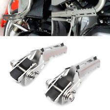 25mm Motorcycle Highway Foot Pegs Rest Crash Bars Mount For BMW R1200GS LC 2016