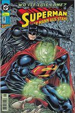 SUPERMAN DER MANN AUS STAHL (deutsch) # 8 - LOIS LANE -DINO VERLAG 2000  NEUWARE