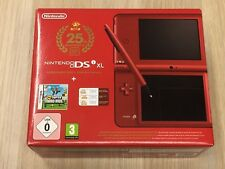 Nintendo DSi XL 25th Anniversary Edition + Super Mario Bros. NEU & VERPACKT