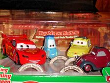 Pixar Cars 2 That's Amore!! Disney Store Exclusive Die Cast Set Talking McQueen+