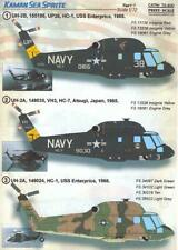 Print Scale Decals 1/72 Kaman Sea Sprite Helicopter Part 1