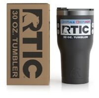 RTIC 2nd Generation Tumbler 30oz Hunter Orange Stainless Steel Cup