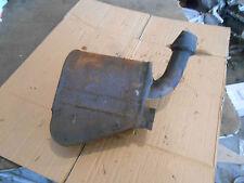 Ski-Doo Ski Doo Skidoo Formula 583 1993 exhaust pipe muffler silencer