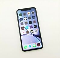 Apple iPhone XR - 64GB - White (Unlocked) Clean ESN *Cracked back