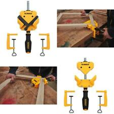 Angle Corner Clamp 90-Degree (2) Table Clamps Woodworking Home Workshop Job Site