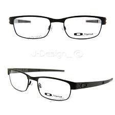 b214e56b21 New Oakley METAL PLATE 22-198 Matte Black Titanium 53 18 140 Eyeglasses
