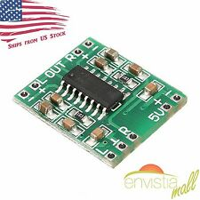 PAM8403 Mini 2 Channel 3W Stereo Class D Audio Power Amplifier Module Board USA