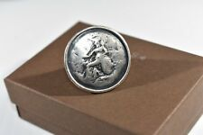 Silpada Sterling Silver Stunning Roman Coin Ring Size 9 R1901 HTF Statement