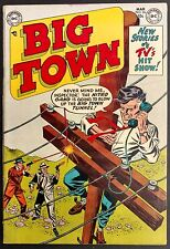 BIG TOWN #26 1954  SWEET FN+  D.C. CRIME TITLE 3 STEVE WILSON STORIES  T.V.SHOW