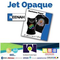 JET OPAQUE II Ink Jet Transfer Paper for DARK FABRICS 25 Sh By Neenah Coldenhove