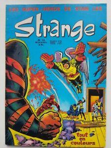 5 01 1971 STRANGE 13 Très rare proche du NEUF XMEN IRON MAN SURFER D'ARGENT