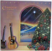 Larry Carlton : Christmas at My Home MCA-6332. 1989 PROMO LP / Vinyl