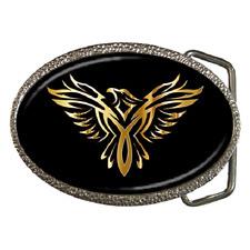 Ave Fénix Golden fuego Rising Llamas Hebilla de cinturón-gran regalo artículo