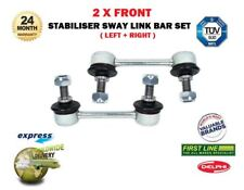 FOR SUZUKI JIMNY 1998-> NEW 2X FRONT LEFT + RIGHT STABILISER SWAY LINK BAR SET