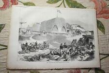 1873  Stich 32 / Metz Bastion Fort St Quentin